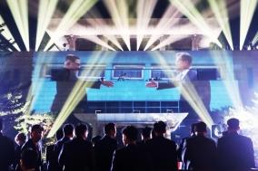 '원 드림 원 코리아', 남북정상회담 피날레 장식