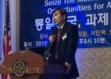 """""""안창호 선생의 독립정신 이어 통일운동에 앞장서길!"""""""