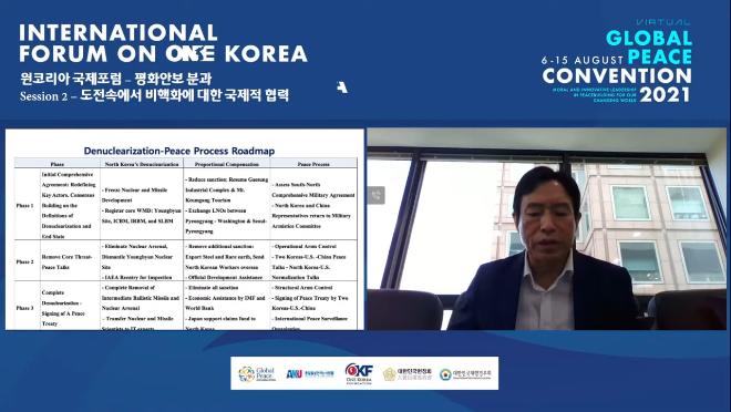 2021 Global Peace Convention _ 원코리아국제포럼_평화안보 분과회의_Session 2 1-21-45 screenshot.png